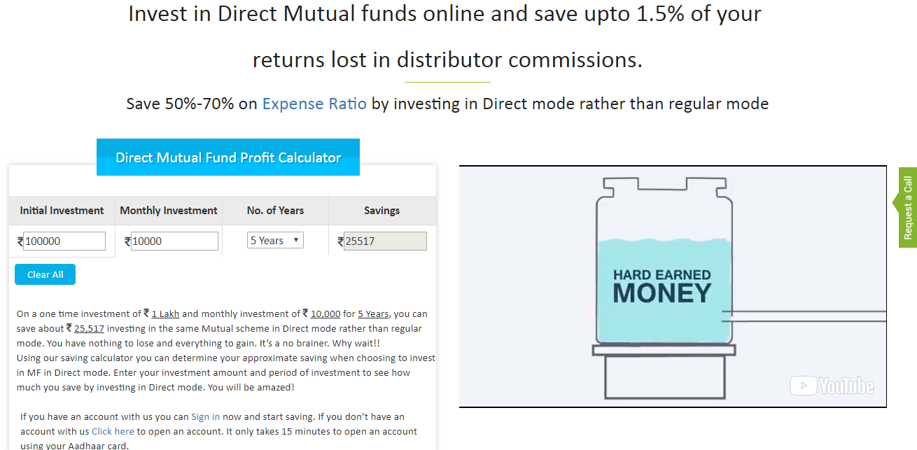 Profit calculator Introducing INFINI MF – Our New Online Mutual Fund Platform