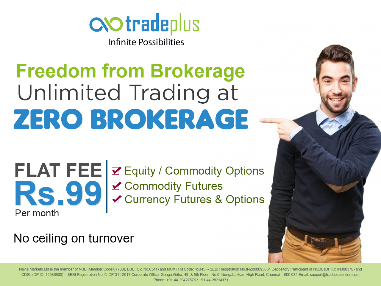 Freedom From Brokerage Benefits Of Online Share Trading