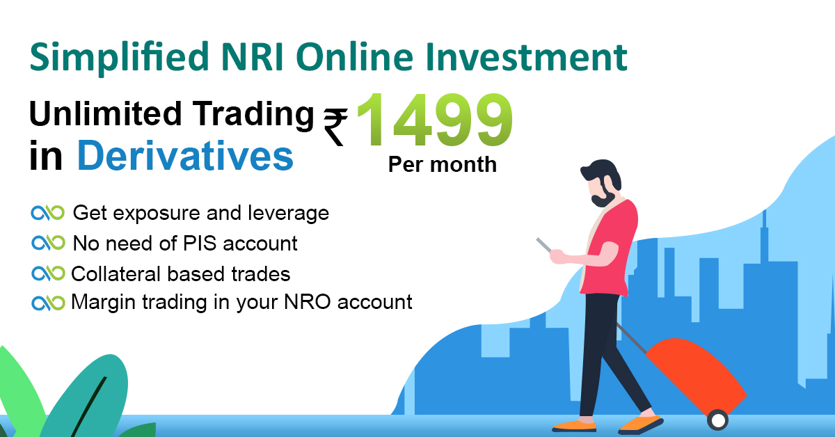 NRI fb Poster Derivatives Trade At a Flat Brokerage For NRIs