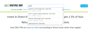 gold fund search 1 300x103 Thinking of buying gold this Akshaya Tritiya?Why not try a different way of investing in gold!