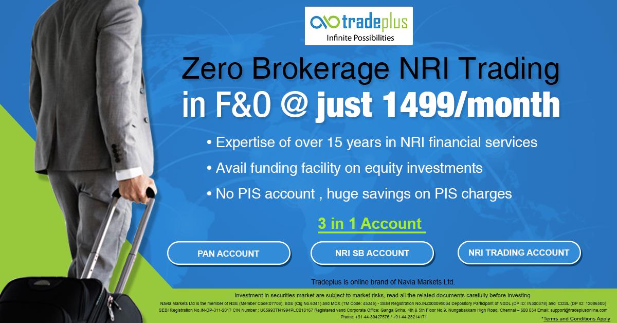 Zero Brokerage NRI Trading What special benefits do NRIs get at Tradeplus?