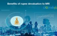 Benefits of rupee devaluation to NRI