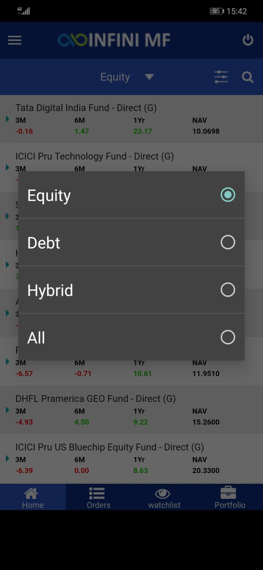 image006 Fresh new Mobile Application for Mutual Funds Investment