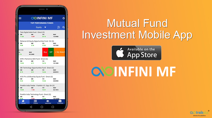 Tradeplus IOS Mobile App for Inini MF INFINI MF application now available on APPSTORE for ios users