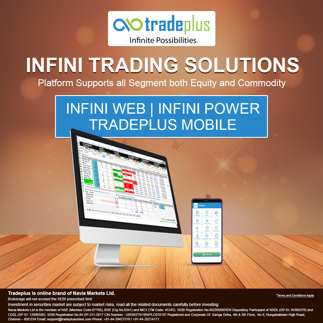 Tradeplus Infini Tarding solutions What are the precautions intraday trader should take?