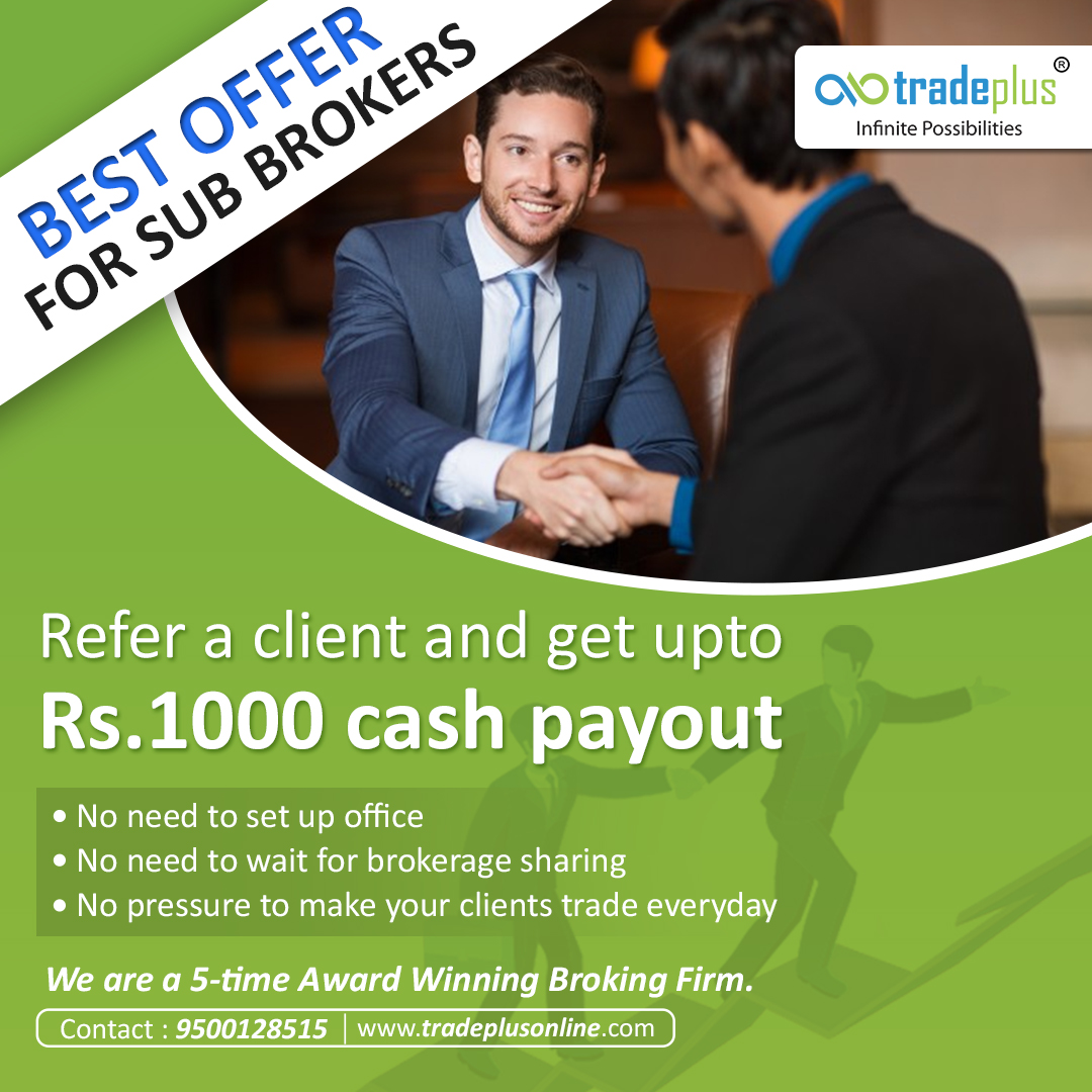 BEST OFFER FOR SUB BROKERS 1 1 Evolution Of Online Trading Service And Business Opportunities For You!