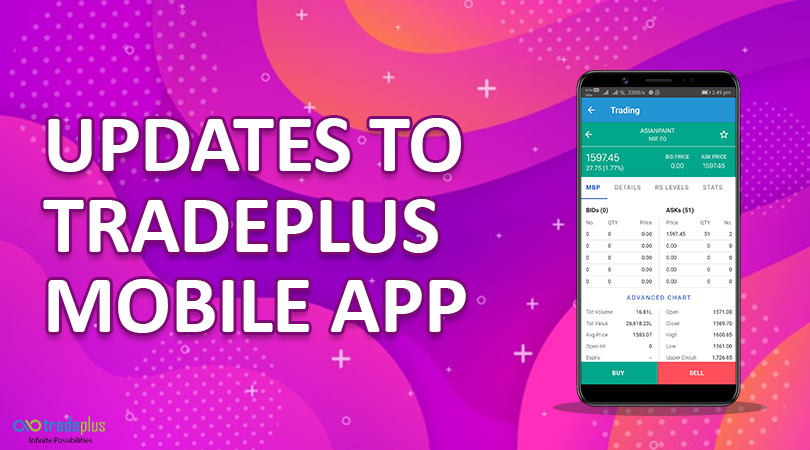 update tradeplus mobile Banner Updates To Tradeplus Mobile App