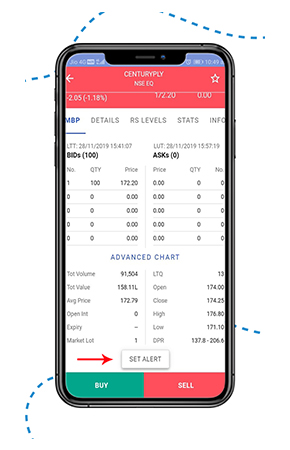 Set alert Introducing INFINI MOBILE with new UI