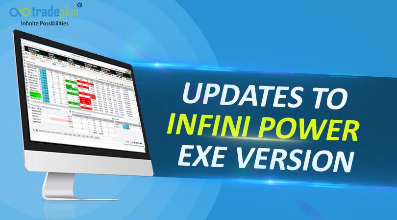 update in EXE Updates To Infini Power EXE Version