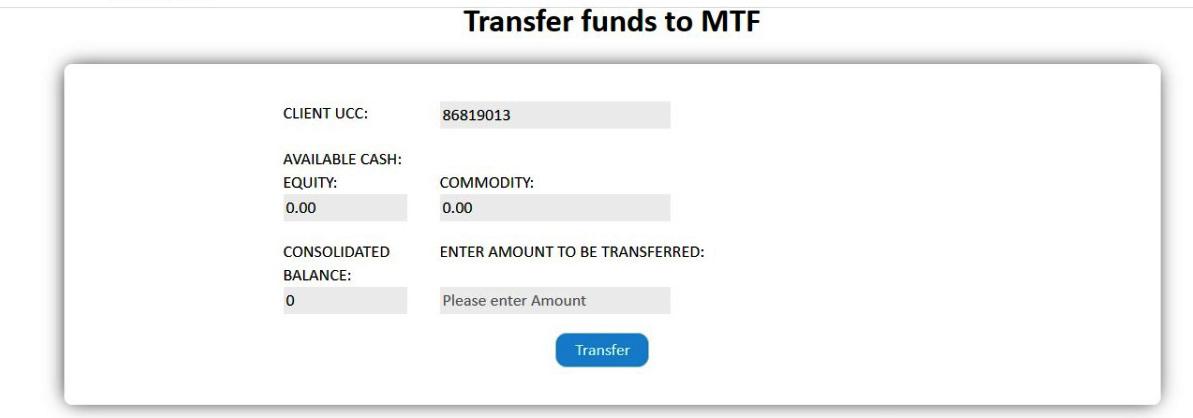 Web MTF Transfer1 Updates to Infini Web and Infini Mobile App