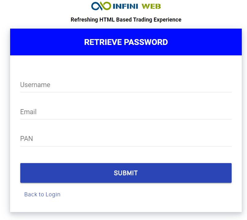 retreive Updates to Infini Web and Infini Mobile App