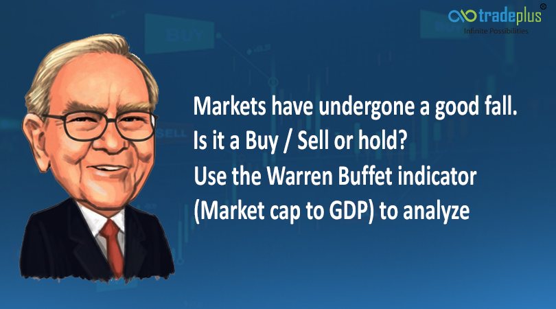 market blog banner Markets have undergone a good fall. Is it a Buy / sell or hold? Use the warren buffet indicator (market cap to GDP) to analyze