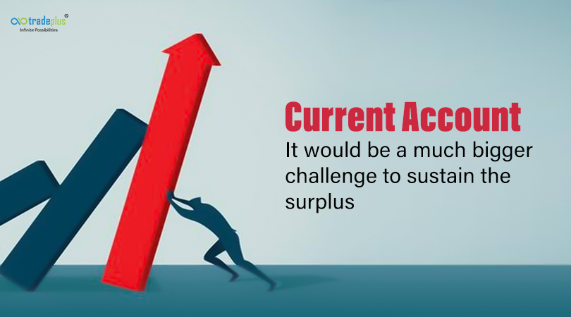 Current Account Current Account   It would be a much bigger challenge to sustain the surplus