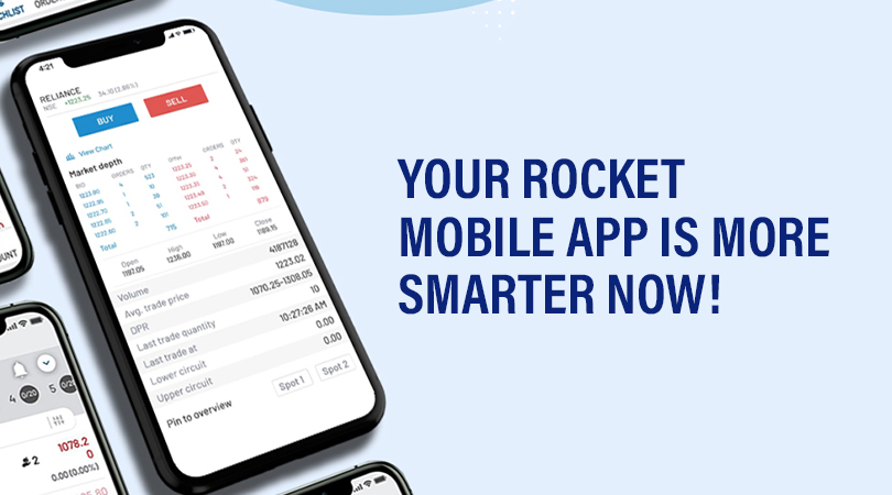 Your Rocket Mobile App is more Smarter Now Your Rocket Mobile App is more Smarter Now!