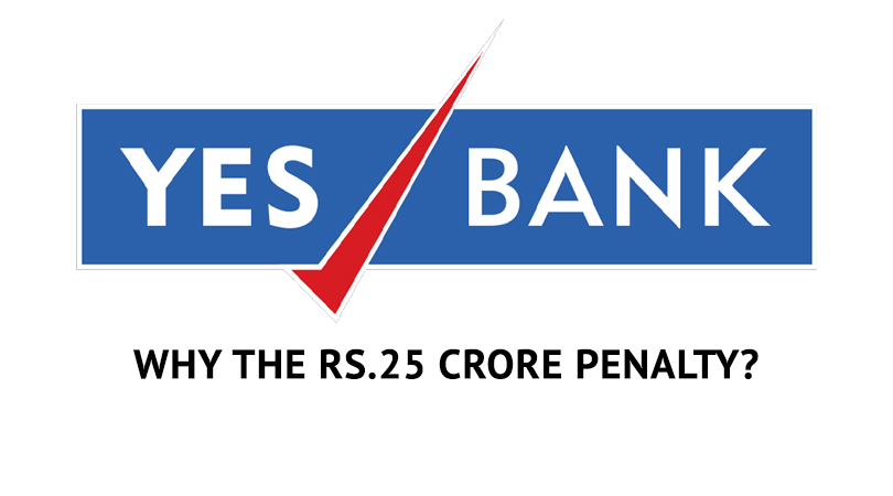 yes Yes Bank   Why the Rs.25 crore penalty for mis selling may face a hurdle