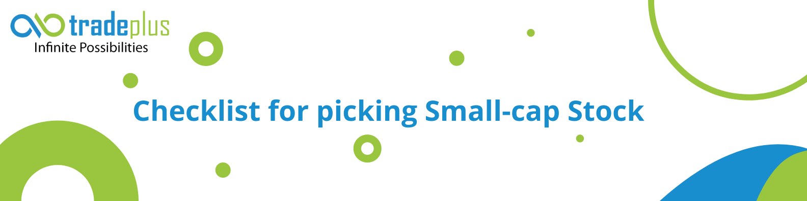 Checklist for picking Small cap Stock 1 10 Point Checklist for picking a small cap stock